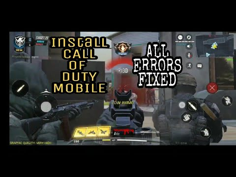 How To Download CALL OF DUTY Mobile | All Errors Solved | Android Gameplay