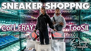 COI LERAY AND TOOSII GO SNEAKER SHOPPING AT PRIVATE SELECTION