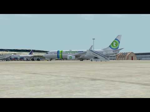 flight from Marseille to Copenhague B737 800 TRANSAVIA