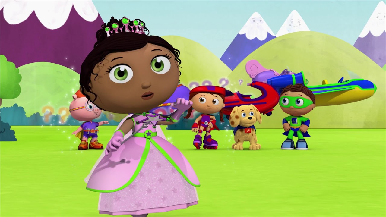 This is a graphic of Selective Super Why Images