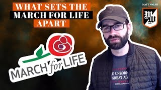 What Sets The March For Life Apart | The Matt Walsh Show - Ep. 179