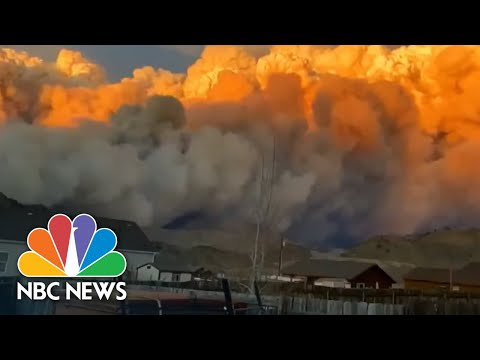 Largest Wildfires In Colorado History Burn Just 10 Miles Apart | NBC Nightly News