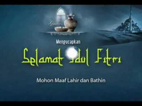 Gema takbir Idul fitri 2013/1434H