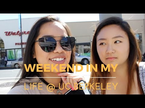 WEEKEND IN MY LIFE @ UC BERKELEY!