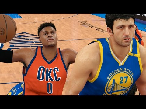 THE BATTLE OF ZAZA PACHULIA AND RUSSELL WESTBROOK! NBA 2K17 CHALLENGE