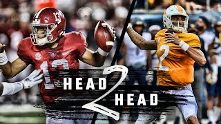 Head to Head: Alabama vs. Tennessee