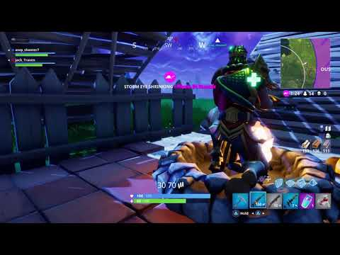 Fortnite Battle Royale Army Girl & Monkey King Tilted Towers Victory Royale Duo