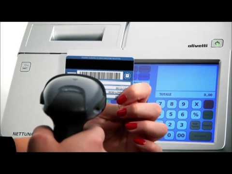 Registratore di cassa Touch Nettuna 7000 Plus Olivetti