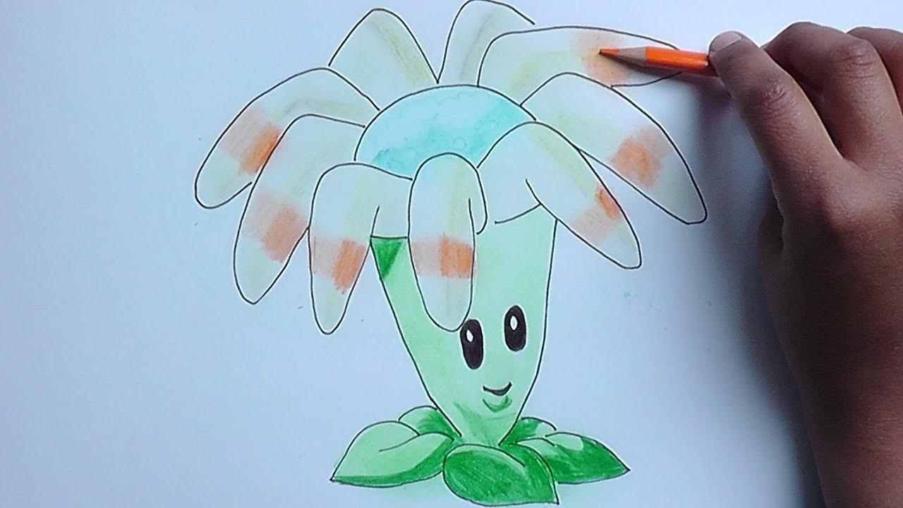 Dibujando Y Coloreando Bumeran Plantas Vs Zombies