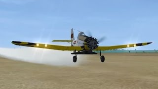 Crop Dusting in FSX!