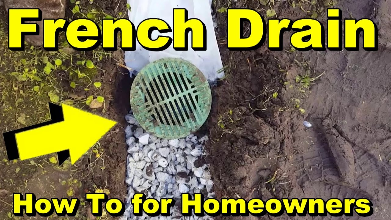 Superieur French Drain To Backyard Sump Pump, DIY
