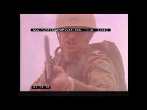 Saudi Troops on Exercises.  Archive film 43512