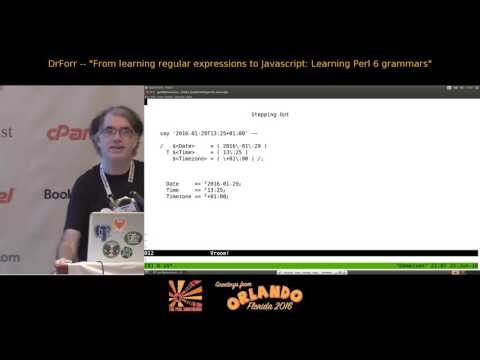 From Regular Expressions to Javascript - Learn Perl6 Grammars