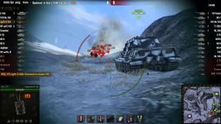 Нерфить Jagdpanzer E100 - 12400 Урона!