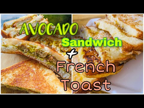 Ever had tasty Avocado Sandwich?! Why not try making it yourself | French toast | Ramadan special 17