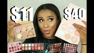 Video Cheap Makeup Haul + Best Highend Dupes for Everything| Shop Hush download MP3, 3GP, MP4, WEBM, AVI, FLV Januari 2018