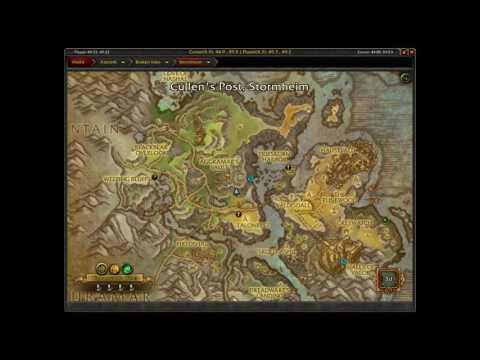 Glimmering Treasure Chest Stormheim WoW Amberfall Mesa