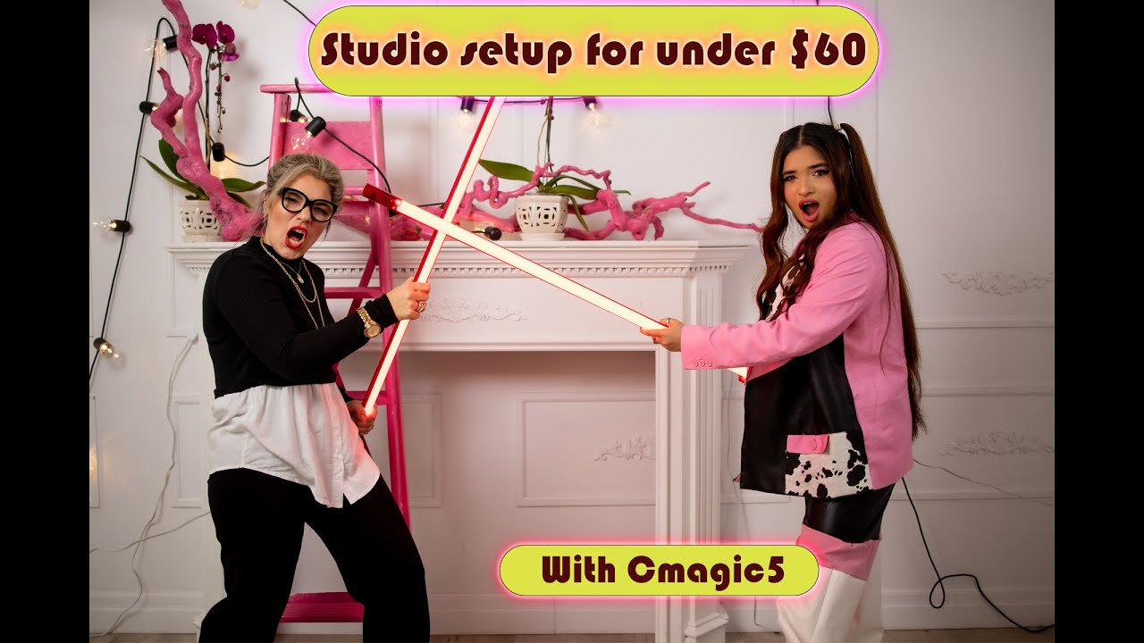Create your home studio Feat. Cmagic5 under $60!