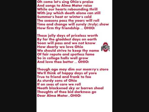 Ohio State Alma Mater