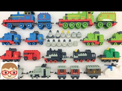 Toy Train Videos for Children Thomas | Building Blocks Toys for Kids | DiaBlock