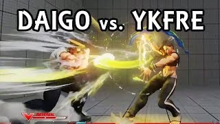 Street Fighter V Ranked Match.