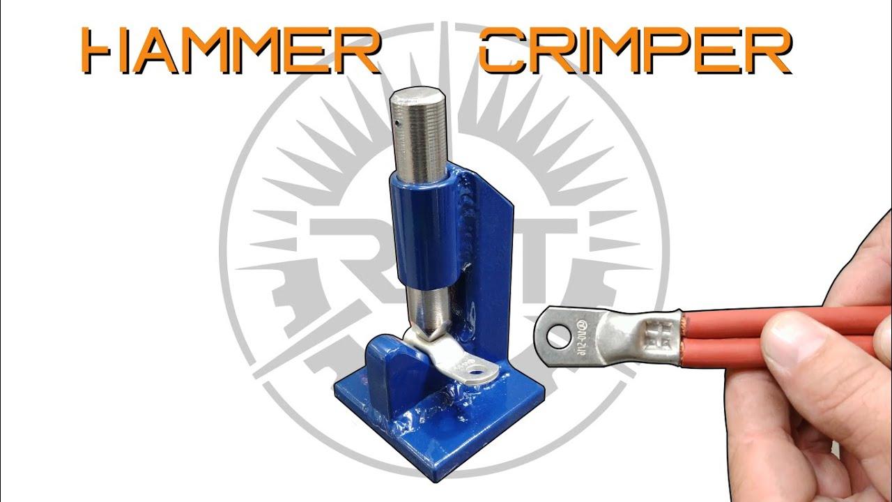 Making A Hammer Crimper