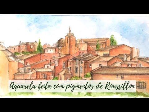 Conhecendo a cidade dos pigmentos através da aquarela! Roussillon from YouTube · Duration:  1 minutes 44 seconds