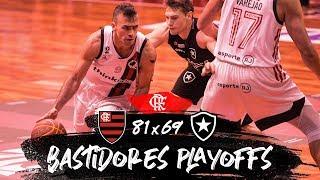 Flamengo 81x69 Botafogo - Jogo 2 da semifinal do NBB - Bastidores