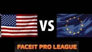 CS:GO - NA vs EU (FPL)