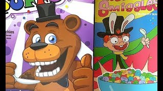 FNaF Cereal + Rick and Morty Cereal Review