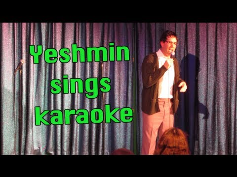 Yeshmin Sings Karaoke on a Cruise Ship