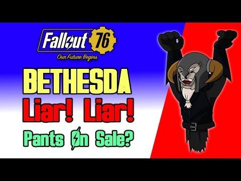 BETHESDA : Liar! Liar! Pants on Sale? | RANT