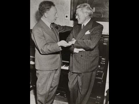 Rubinstein & Rodzinski live concert 1950 - Rossini & Brahms