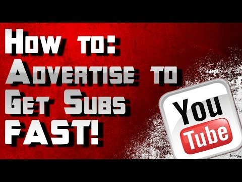 How To Use Ads to Grow Your Channel! Get Subs Fast Using Youtube Video Ads by ohaple