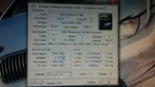 AMD Phenom II x4 965 Overclock Past 3.6Ghz
