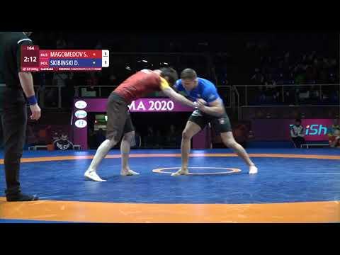 GOLD Men's GP No-Gi - 84 kg: S. MAGOMEDOV (RUS) v. D. SKIBINSKI (POL)