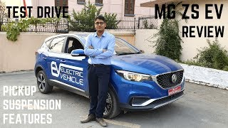 2019 MG ZS EV Electric SUV Test Drive Review - Pick Up, Offroad, Braking, Practicality, Features