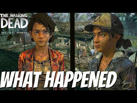 Why Did Clementines LOOK change - The Walking Dead:Season 4 The Final Season