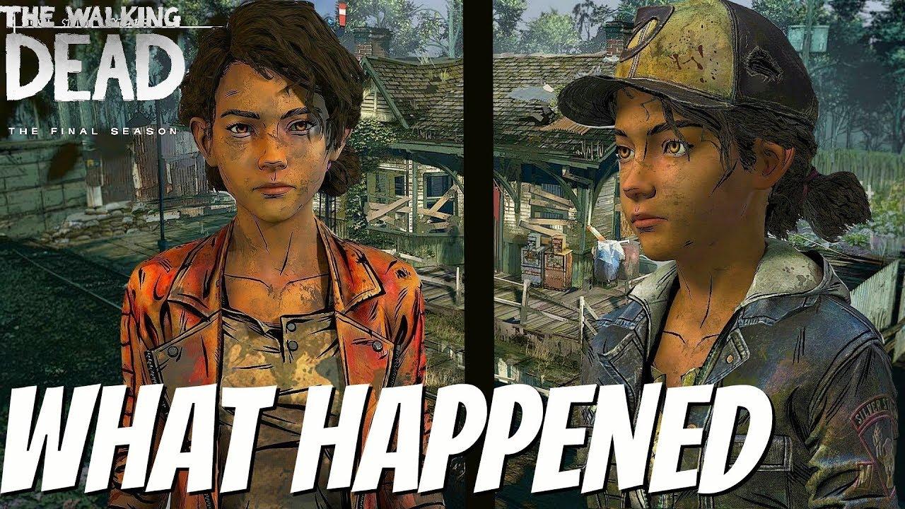 Why Did Clementine S Look Change The Walking Dead Season 4 The Final Season
