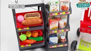 Supermarket electronic Smoby cu cântar pentru copi