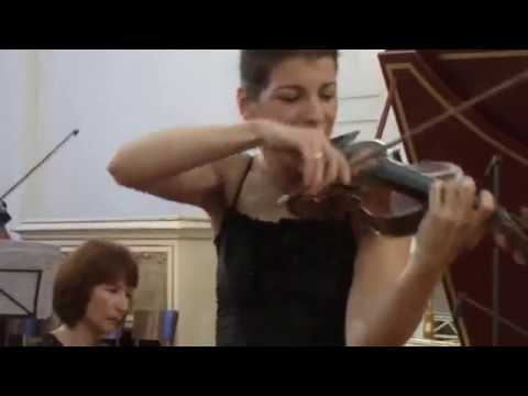 Bach Violin Concerto in E major - Marta Abraham - 3. Allegro assai (3/3)