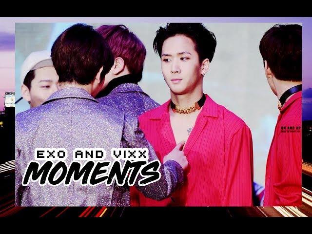 EXO AND VIXX MOMENTS