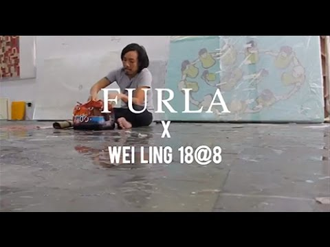 """Artified Furla Candy Bags"" in collaboration with WeiLing Gallery 18@8 exhibitions Malaysia"