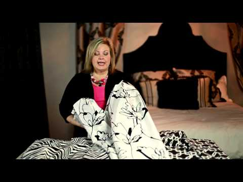 How to Decorate With Black & White Curtains : Creative Curtains
