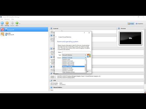 OS 64 Bit Tidak Muncul di VirtualBox