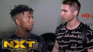 A frustrated Lio Rush lashes out at Tyler Breeze: NXT Exclusive, Feb. 19, 2020
