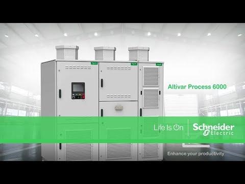 Altivar Process 6000 - Medium Voltage Drive System from Schneider Electric