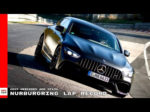 2019 Mercedes Amg Gt63s Nurburgring Lap Record Youtube