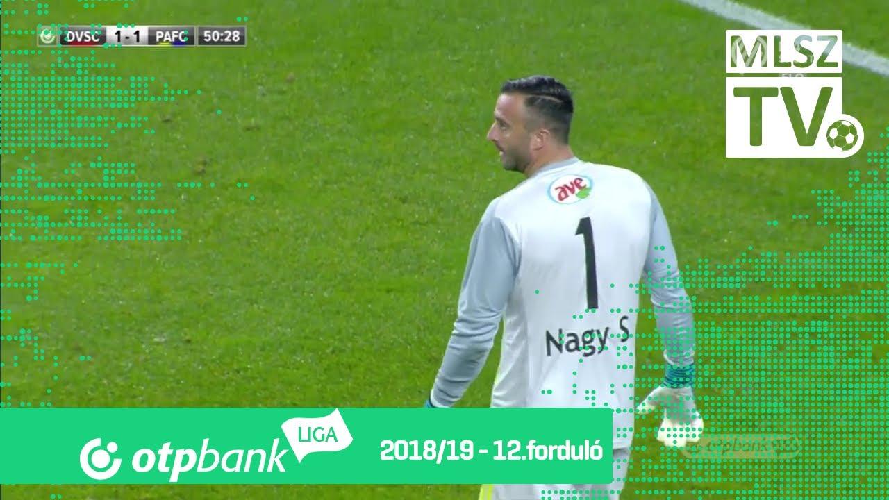 DVSC - Puskás Akadémia FC | 2-1 (1-0) | OTP Bank Liga | 12. forduló | 2018/2019