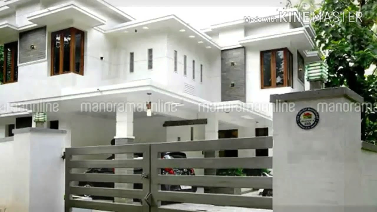 Double floor house under 15 lakh Modern Home| Design| Elevation ...